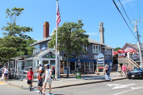 Provincetown Chamber of Commerce building, Lopez Square