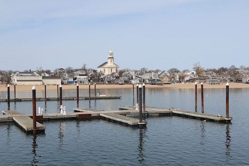Provincetown Harbor waiting for Summer
