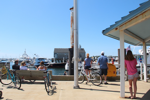 Summer in Provincetown, MacMillan Pier and Provincetown Marina