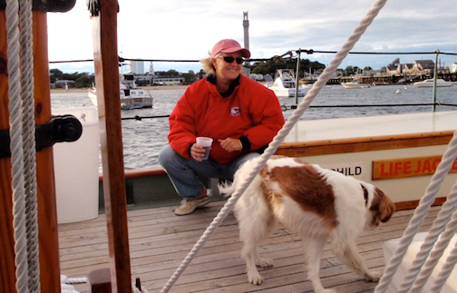 Provincetown Harbor, Candy and Charlie